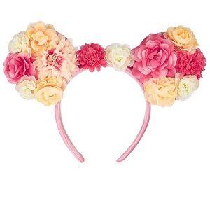 Disney parks Mickey Mouse floral ear headband!